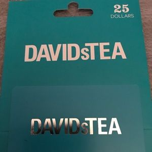 David's Tea gift card